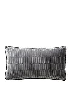 karen-millen-velvet-pleat-boudoir-cushion-charcoal