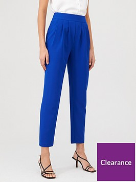 v-by-very-pleated-front-tailored-trouser-cobalt
