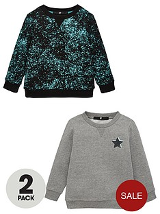 v-by-very-boys-2-pack-splatter-and-star-print-sweatshirts-multi