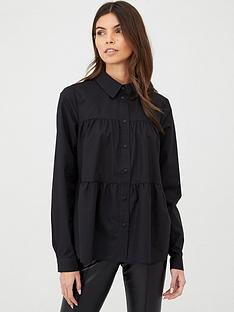 v-by-very-tiered-shirt-black