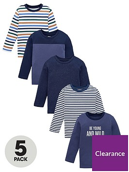 v-by-very-boys-5-pack-long-sleeve-mixed-stripe-t-shirts-multi