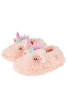 accessorize-glitter-unicorn-slippers-pink