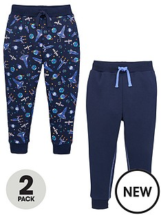 v-by-very-boys-2-pack-spaceship-and-plain-joggers-navy