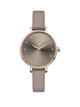 Amanda Walker Amanda Walker Amanda Walker Florence Grey And Rose Gold  ... Picture