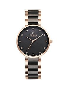 obaku-obaku-glad-black-and-rose-gold-detail-dial-two-tone-stainless-steel-bracelet-ladies-watch