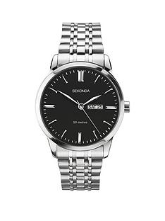 sekonda-sekonda-black-daydate-dial-stainless-steel-bracelet-mens-watch