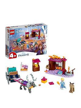 LEGO Disney Lego Disney 41166 Elsa'S Wagon Adventure With 2 Reindeers Picture