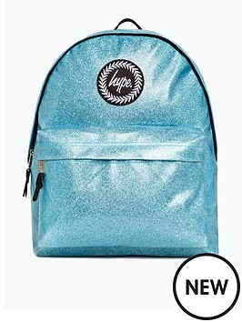 hype-girls-glitter-backpack-blue