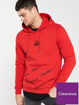 kings-will-dream-lidston-overhead-hoodie-red