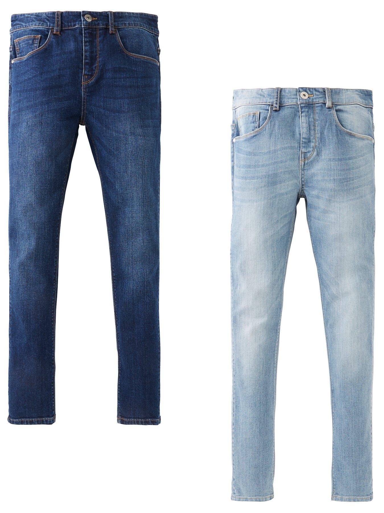 "Mens Heavy Duty Straight Jeans Quality Hard Wearing DENIM JEANS 30/""-48/"""