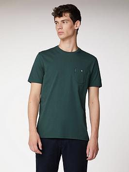 Ben Sherman Ben Sherman Spade Pocket T-Shirt - Forest Green Picture