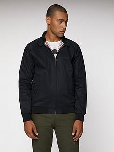 ben-sherman-harrington-jacket-black