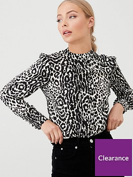 oasis-agate-animal-high-neck-top-monochrome