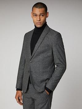 Ben Sherman Ben Sherman Unstructured Camden Suit Jacket - Charcoal Speckle Picture