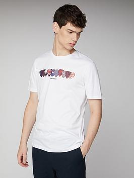 Ben Sherman Ben Sherman Plectrums T-Shirt - White Picture