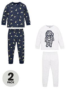 v-by-very-boys-2-pack-spaceman-pyjamas-navygrey