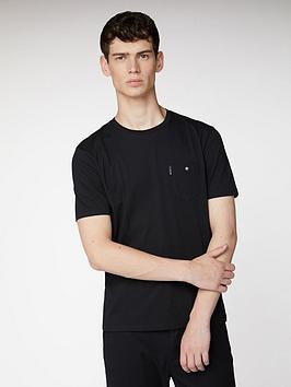 Ben Sherman Ben Sherman Spade Pocket Tee-Black Picture
