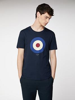 Ben Sherman  Target T-Shirt - Dark Navy