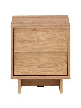 Very Leon 2 Drawer Bedside Chest Picture