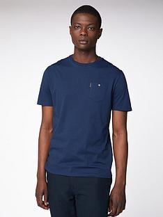 ben-sherman-spade-pocket-t-shirt-dark-navy
