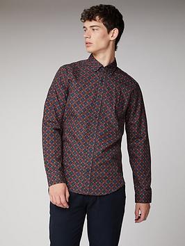 Ben Sherman Ben Sherman Long Sleeve Shirt - Rust Picture