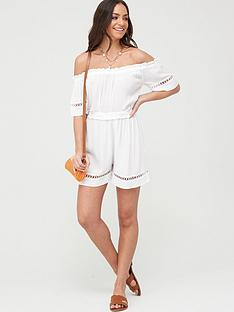 v-by-very-crinkle-lace-trim-bardot-beach-playsuit-whitenbsp