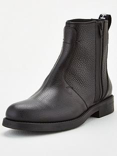 hugo-vicky-biker-boots-black