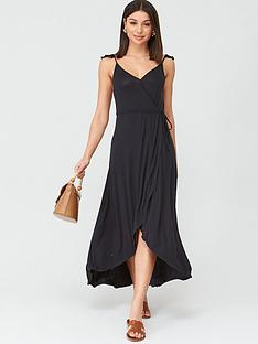 v-by-very-dipped-hem-wrap-jerseynbspdress-black