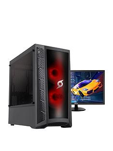 zoostorm-stormforce-onyx-intel-i3-9100f-8gb-ram-1tb-hard-drive-4gb-gtx-1650-graphics-gaming-pc-black-24-inch-asus-gaming-monitor