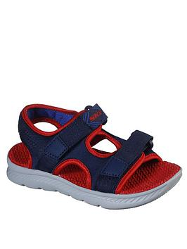 Skechers Skechers Boys C-Flex Sandals - Navy Picture
