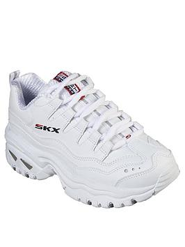 Skechers Skechers Energy Timeless Vision Trainers - White Picture