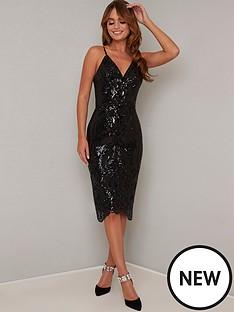 chi-chi-london-margot-dress-black