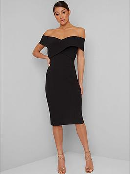chi chi london Chi Chi London Belinia Dress - Black Picture