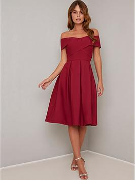 chi chi london Chi Chi London Bayra Dress - Red Picture