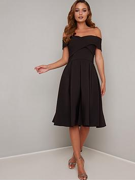 chi chi london Chi Chi London Sevda Dress - Black Picture