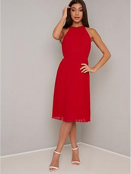 chi chi london Chi Chi London Soren Dress - Red Picture