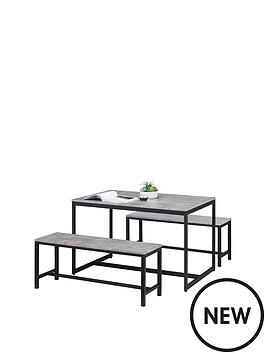 julian-bowen-staten-dining-table-2-benches