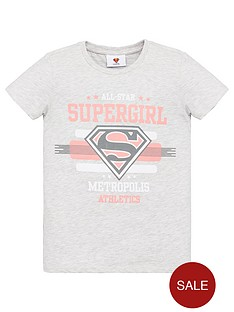 superman-girls-supergirl-t-shirt-grey-marl