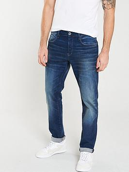 G-Star Raw G-Star Raw 3301 Joe Straight Fit Jeans - Worker Blue Faded Picture