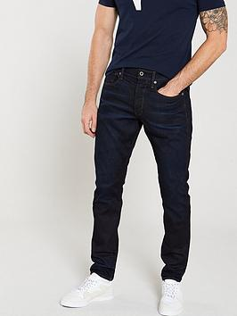 G-Star Raw G-Star Raw 3301 Visor Tapered Fit Jeans - Dark Aged Blue Picture