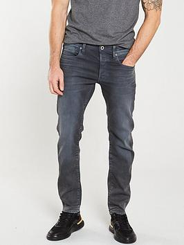G-Star Raw G-Star Raw G-Star 3301 Loomer Grey Slim Fit Jeans Picture