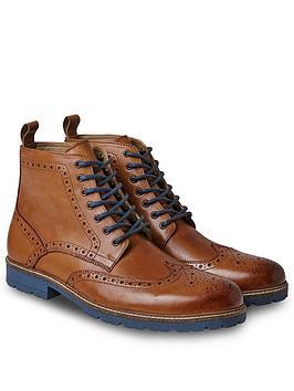 Joe Browns Joe Browns Harrison Tan Brogue Boots Picture