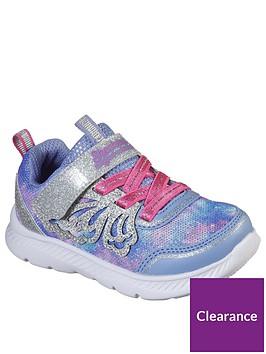 skechers-toddler-girls-comfy-flex-20-trainers-purpleblue