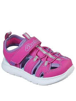 Skechers Skechers Toddler Girls C-Flex Closed Toe Sandals - Pink Picture