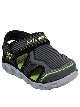 Skechers Skechers Toddler Boys Hypno Splash Zotex Sandals - Charcoal Picture