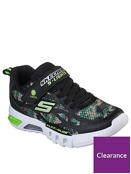 skechers-boys-flex-glow-trainers-camo
