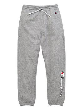 Champion Champion Girls Logo Joggers - Grey Heather Picture