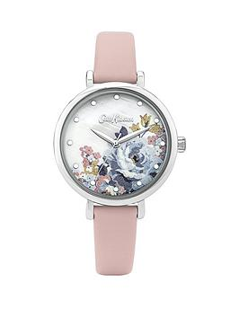 Cath Kidston Cath Kidston Cath Kidston Somerset Rose White Dial Pink  ... Picture