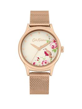 Cath Kidston Cath Kidston Cat Kidston Little Birds Print Gold Detail Dial  ... Picture