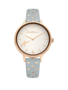 Cath Kidston Cath Kidston Cath Kidston White And Rose Gold Detail Dial  ... Picture